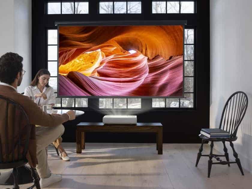 Samsung The Premiere proyector láser tiro corto 4K HDR
