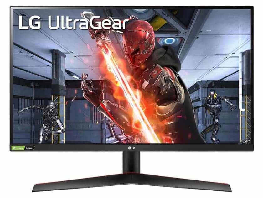 LG UltraGear GN800 con resolución WQHD y HDR 10