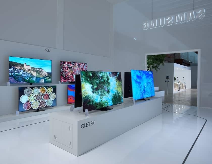 Gama Samsung QLED 8K y 4K 2020
