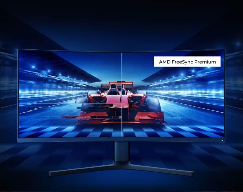 Xiaomi Mi Curved Gaming Monitor con FreeSync Premium