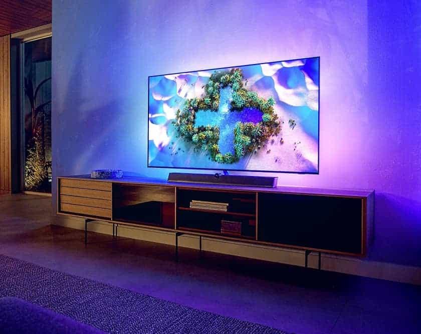 Nuevo TV Philips OLED+ 936 con Ambilight 4 lados