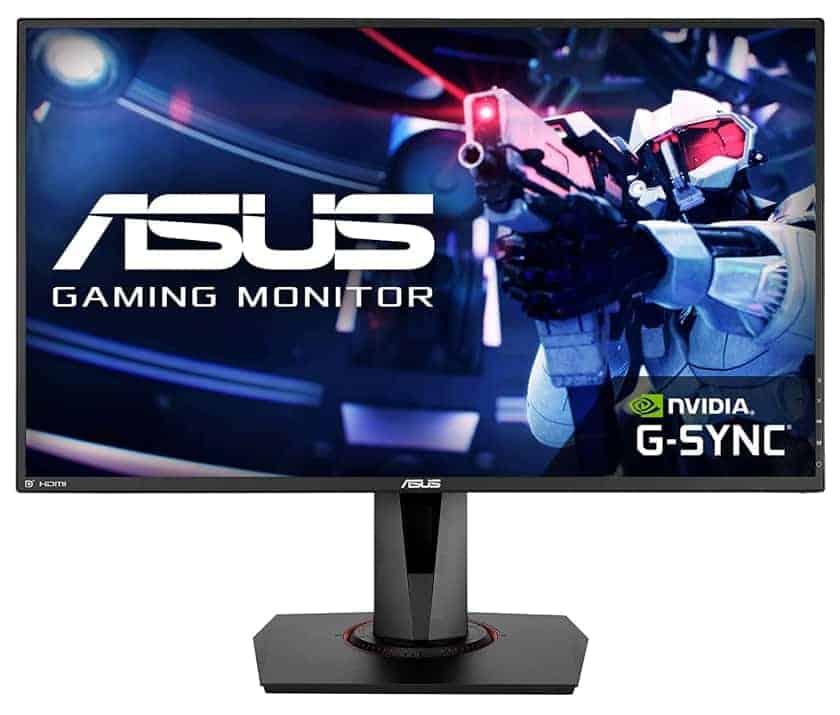 Monitor gaming ASUS VG278QR compatible con G-Sync