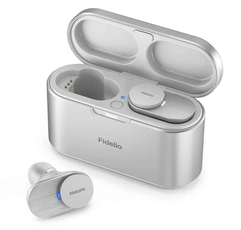 Auriculares Philips Fidelio T1 en color plata