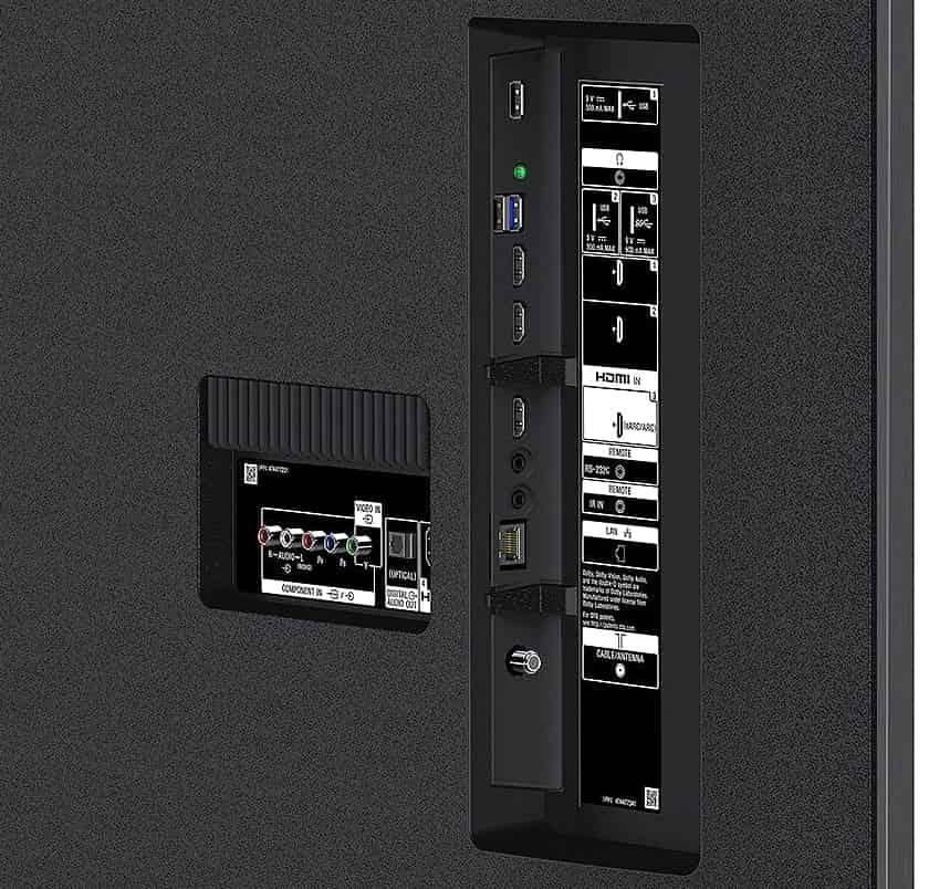 Conexiones Sony XG8596