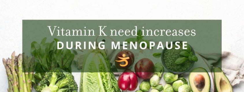 Menopause and vitamin K
