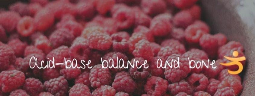 acid base balance and bone