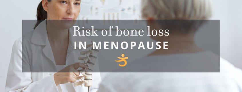 Menopause and bone loss
