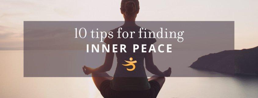 Tips for inner peace