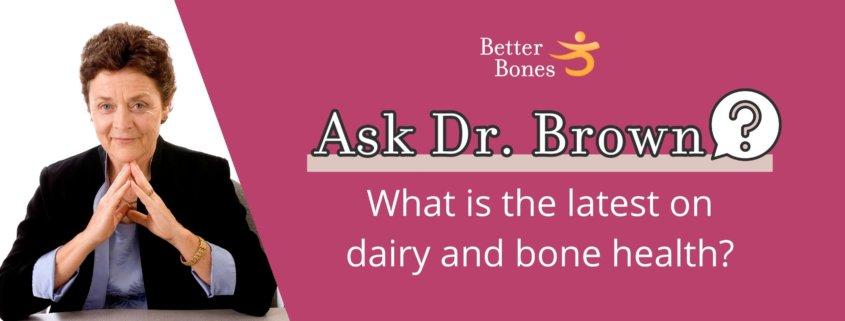 Dairy and bone health