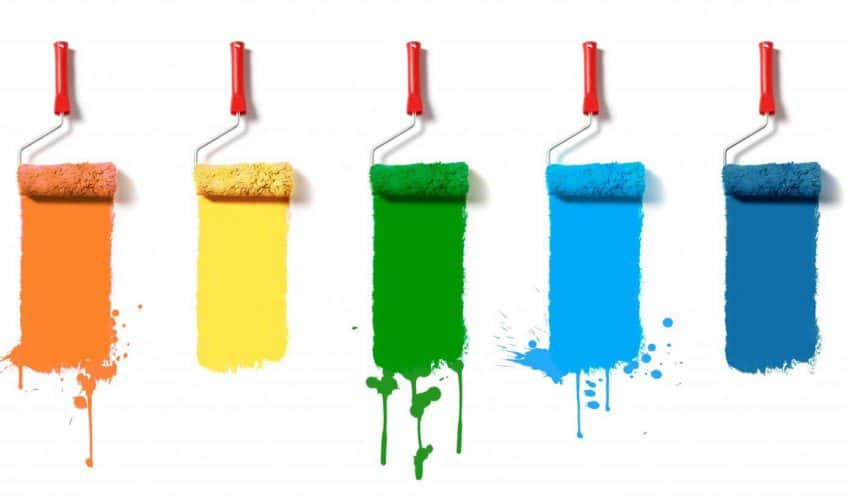 Rodzaje farb do malowania