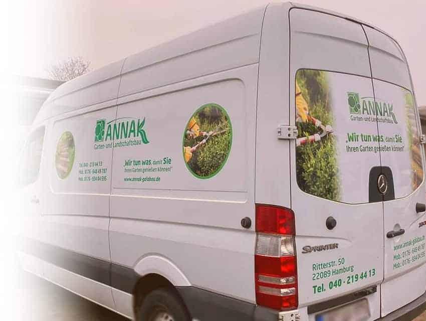 Reklame Bremen Auto Folierung Transporter Beschriftung Plott und Digitaldruck