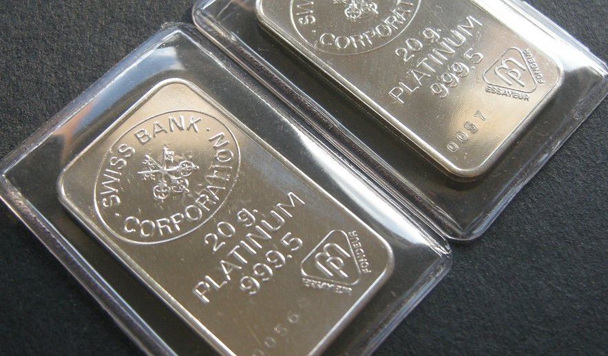 Platin, Platinpreis, Platinbarren (Foto: Goldreporter)