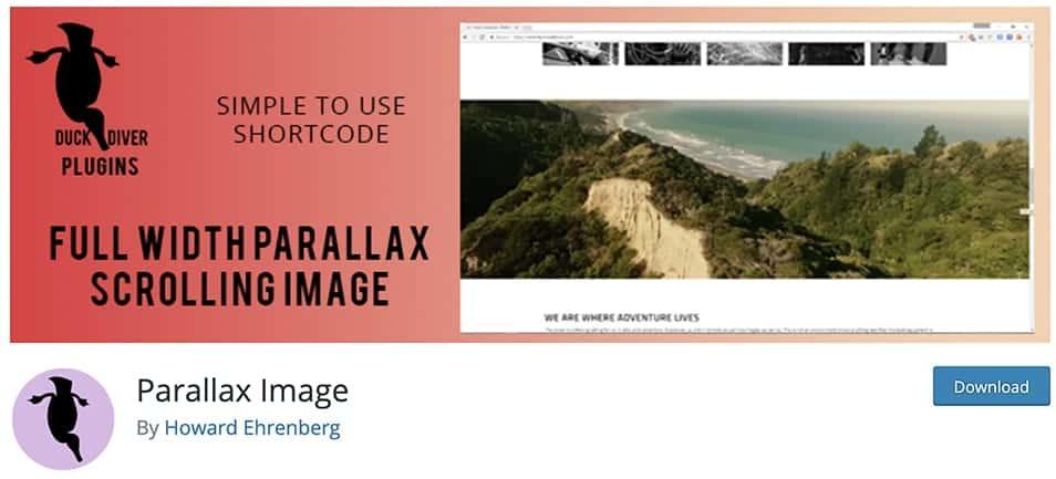 simple parallax image plugin