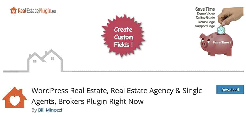 WordPress Real Estate, Real Estate Agency & Single Agents, Brokers Plugin Right Now
