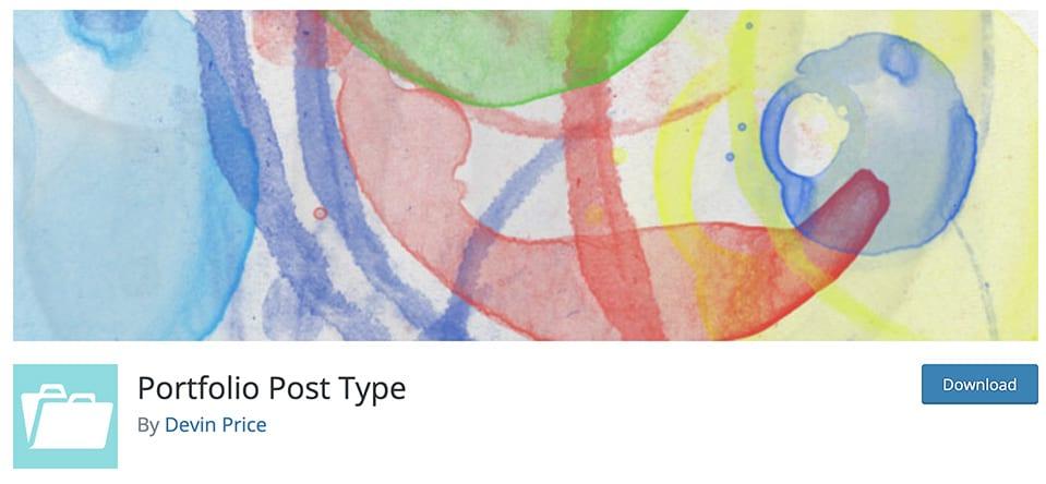 portfolio post type plugin