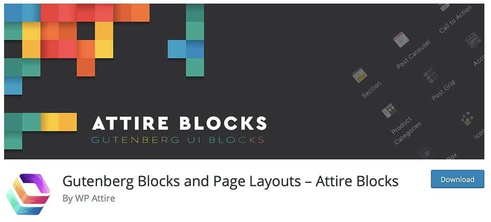 free Gutenberg blocks