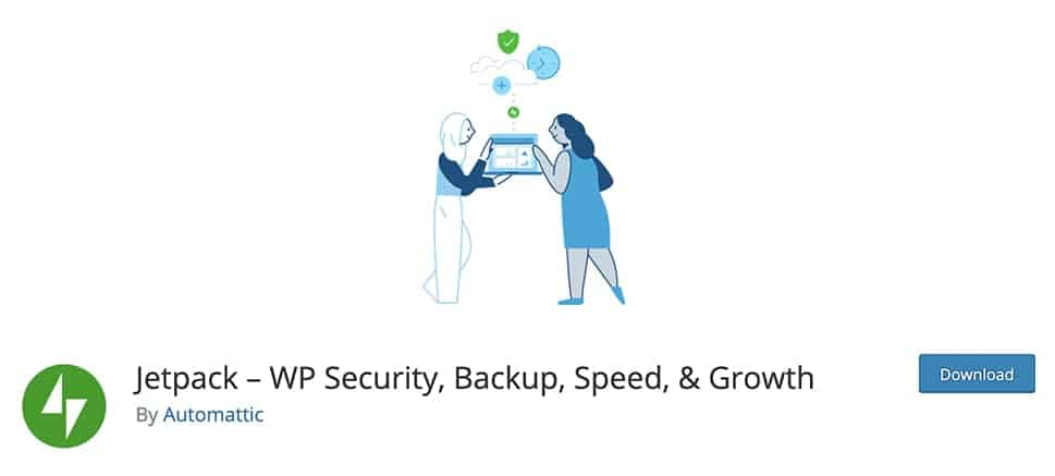 Jetpack – WP Security, Backup, Speed, & Growth