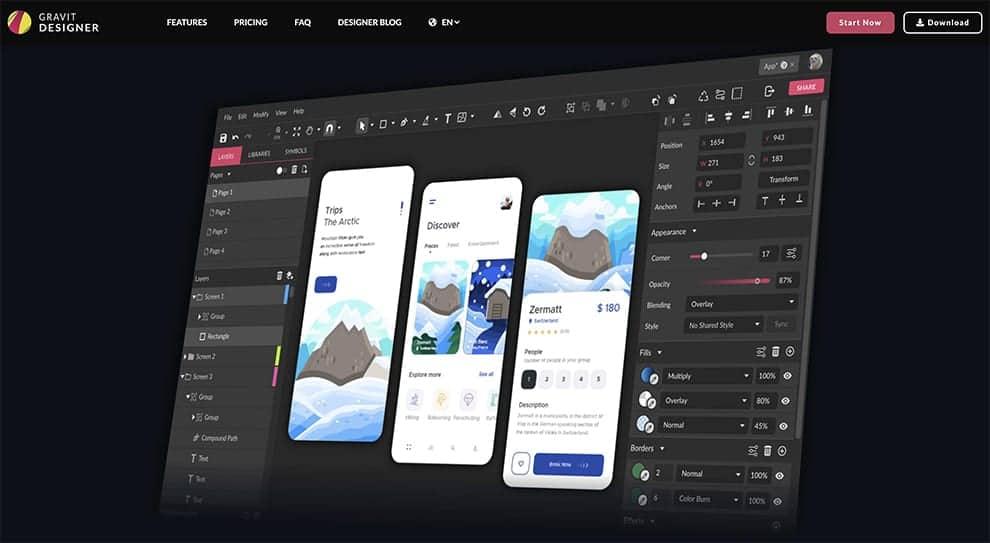 gravid designer free design software