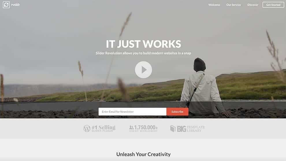 slider eevolution creative