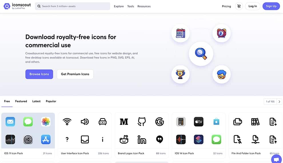 best free icons to download