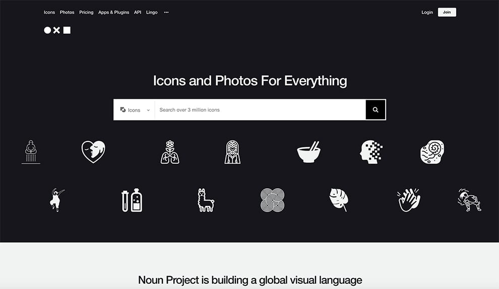 the noun project free icons