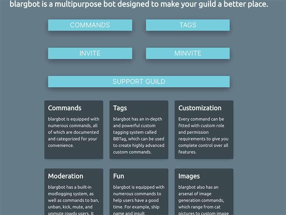 blargbot multipurpose bot