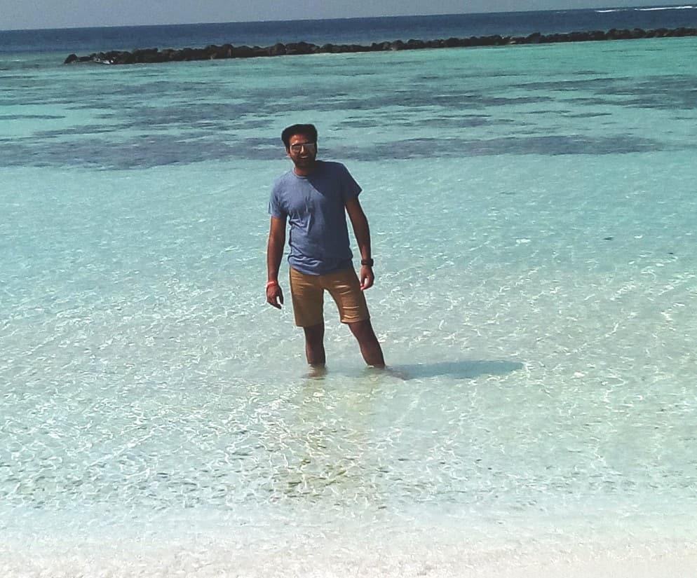at Maldives