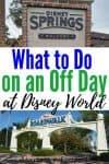 off day at Disney World