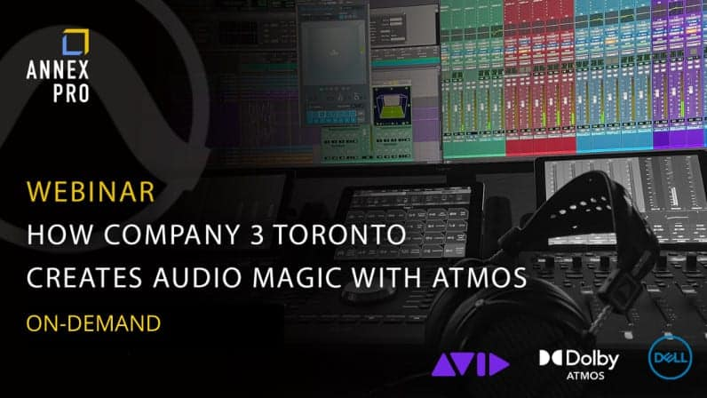 Dolby Atmos Event with Avid, Dell and Company 3