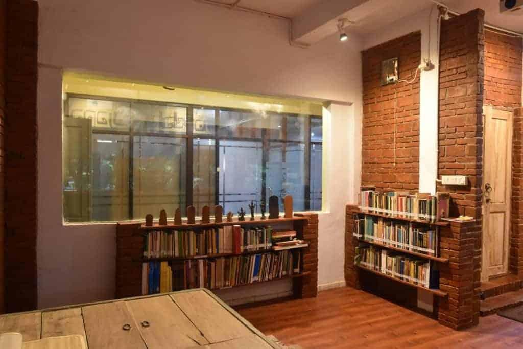Koleksi Ruang Baca di Mandala Majapahit