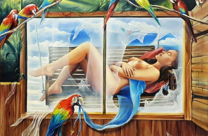 Original Oil Painting: Dream