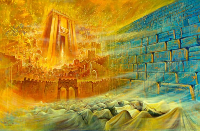Original Oil Painting: Bible Prophecy