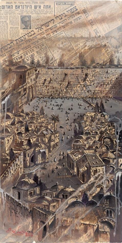 Original Oil Painting: Eternal Jerusalem