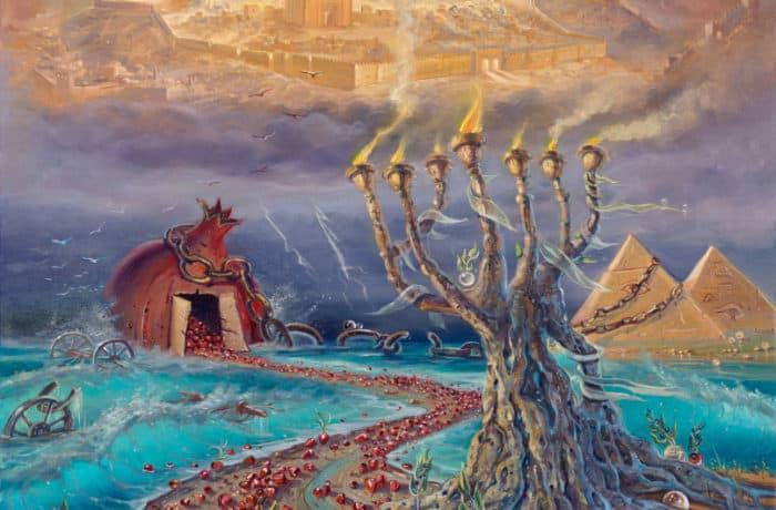 Original Oil Painting: Exodus