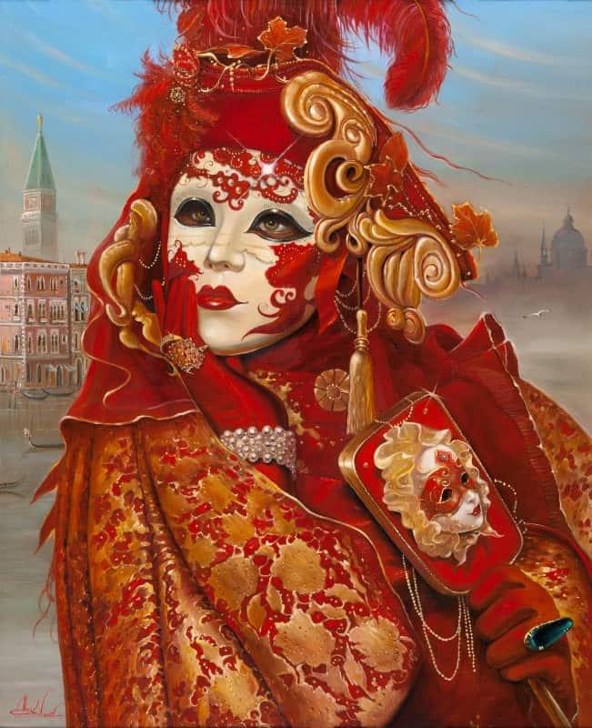 Original Oil Painting: Memories of Venice