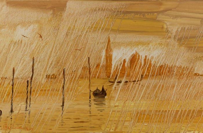 Original Oil Painting: Mozart – Piano Concerto No. 9