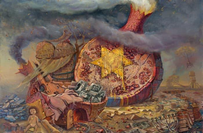 Original Oil Painting: Unanswered prayers