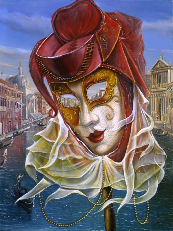 Venice mask Carnival Paintings