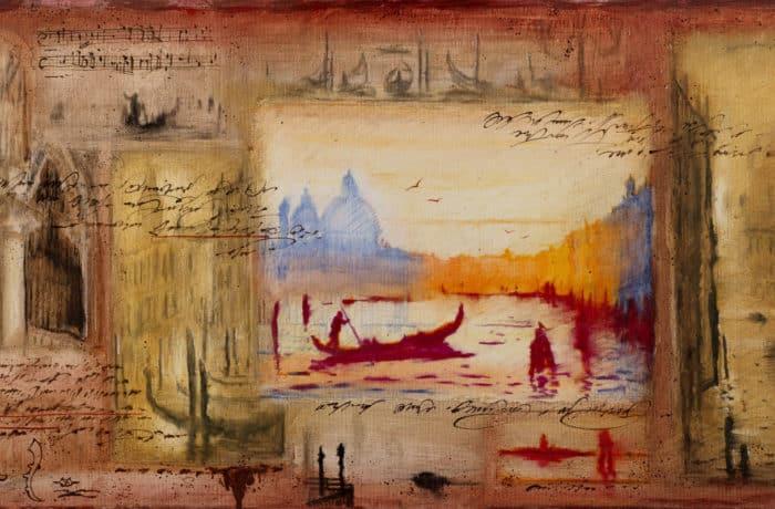 Original Oil Painting: Vivaldi – 12 Sonatas for violin