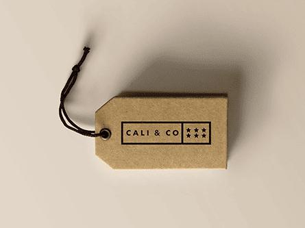 CALI & CO logo design