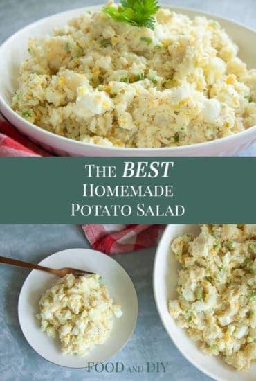 The BEST Homemade Potato Salad