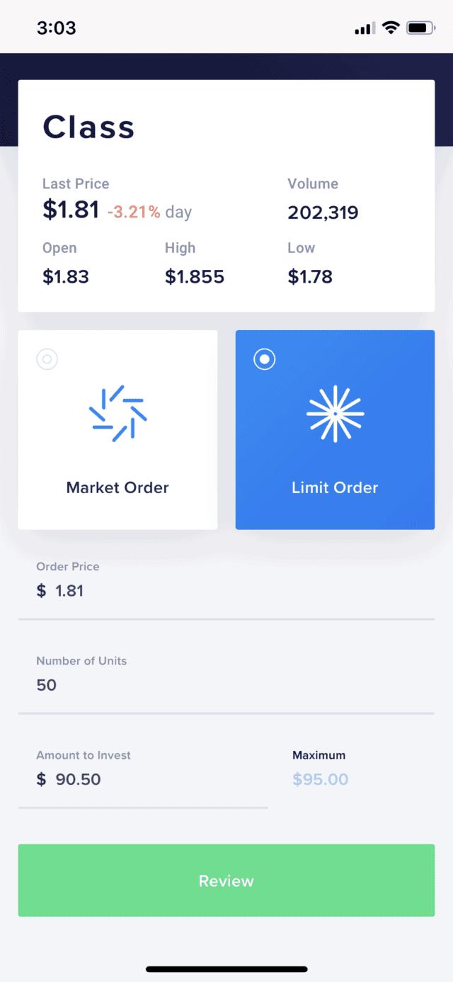Limit Order