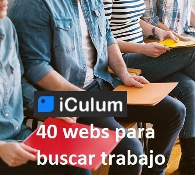 Webs para buscar Trabajo