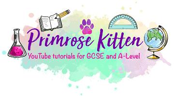Logo of Primrose kitten, an online revision website for students