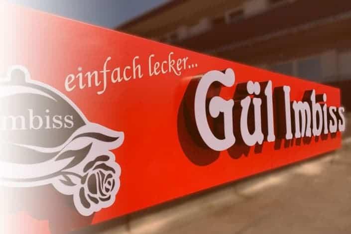 Portfolio LED-3D-Buchstaben - Reklame Bremen