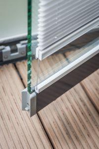 ROOMSCRAFT Small Plissee (Balkonverglasung)