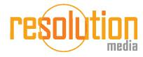 Resolution Media Logo