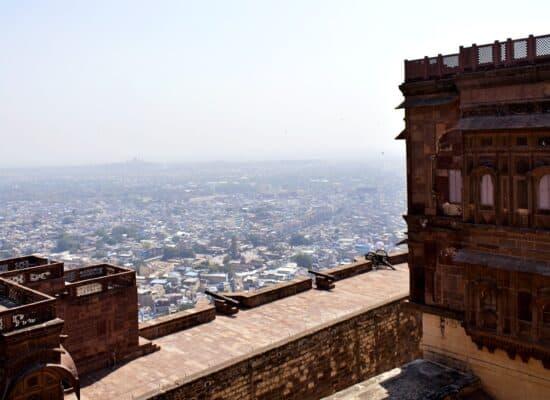 Mehrangarh Fort - Top view