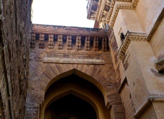 Mehrangarh Inside gate