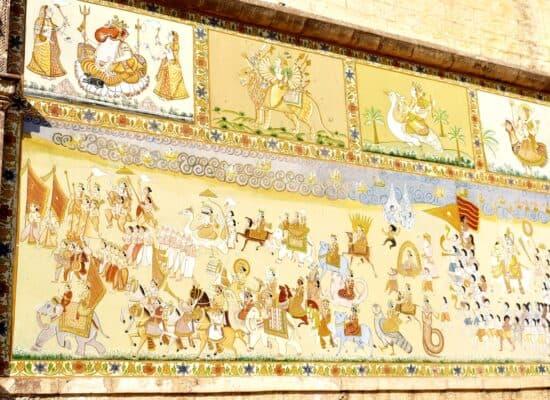 Mehrangarh wall paintings